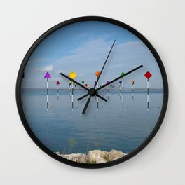 Channel Markers 03 Wall Clock