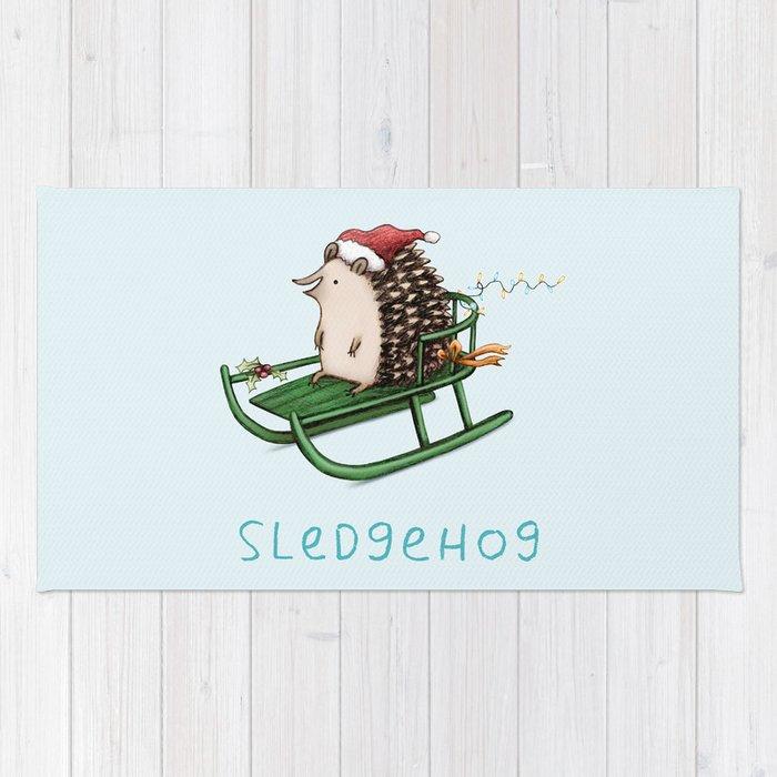 Sledgehog Rug