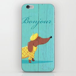 Bonjour Chiot iPhone Skin