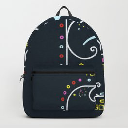 PERFECT IS BORING Backpack