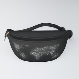 Tiny light spec in the great big universe Fanny Pack