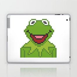 Kermit The Muppets Pixel Character Laptop & iPad Skin