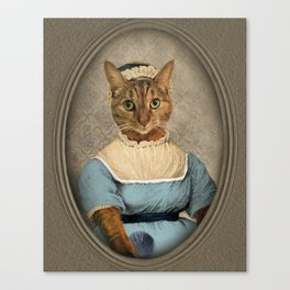 "Jane ""Paw""sten Canvas Print"