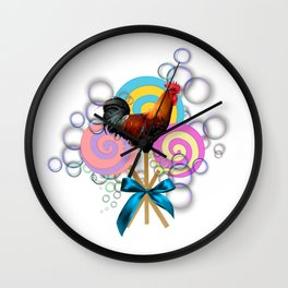 Cock Sucker Wall Clock