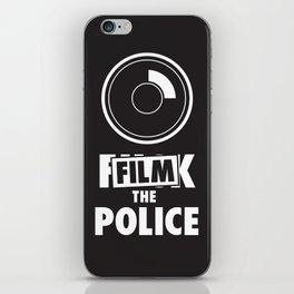 Film the Police iPhone Skin