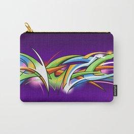 Rainbow Graffiti Carry-All Pouch