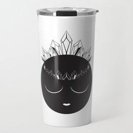 The Crystal Goddess Travel Mug
