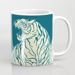 floral tigers Coffee Mug