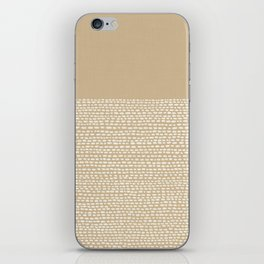 Riverside - Sand iPhone Skin
