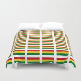 flag of bolivia 2 -bolivian,boliviano,bolivian,Sucre, La Paz. Duvet Cover