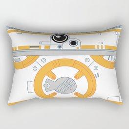Minimal BB8 Droid Rectangular Pillow
