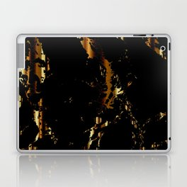 Black and Gold Marble Design Laptop & iPad Skin