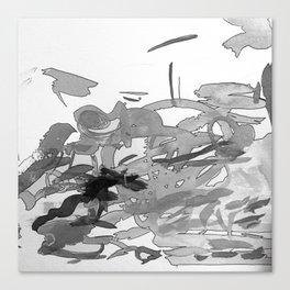 ink splotches Canvas Print