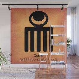 Duafe - Adinkra Art Poster Wall Mural