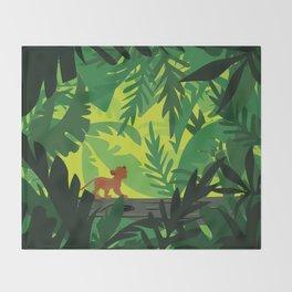 Lion King - Simba Pattern Throw Blanket
