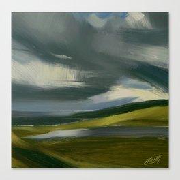Approaching Sandwood Bay Canvas Print