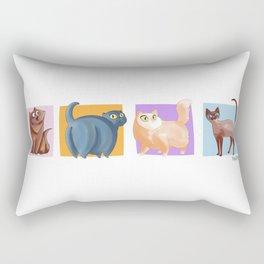 4 Coots Rectangular Pillow