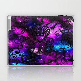 Black Lace Galaxy Laptop & iPad Skin