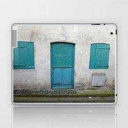 House in Honfleur, France Laptop & iPad Skin