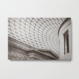 British Museum Roof Metal Print