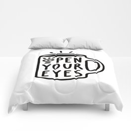 Open Your Eyes Comforters