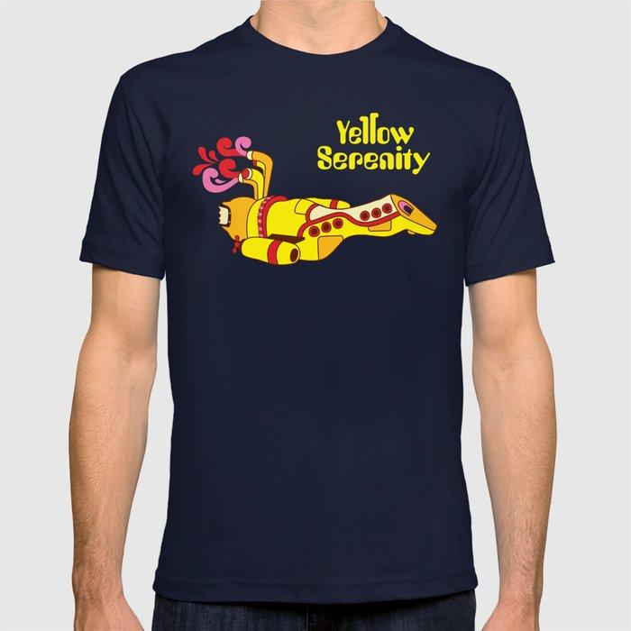 Yellow Serenity T-shirt