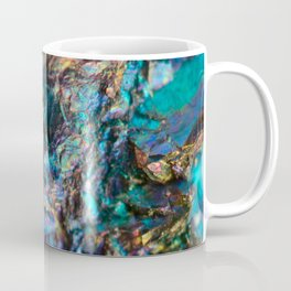 Turquoise Oil Slick Quartz Coffee Mug