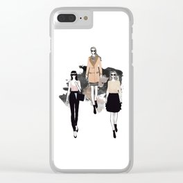 Fashionary 4 Clear iPhone Case