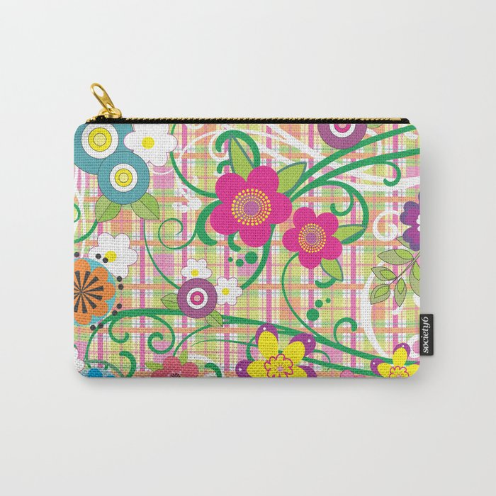 Floral Delight Carry-All Pouch
