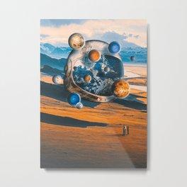 The Astonished Metal Print