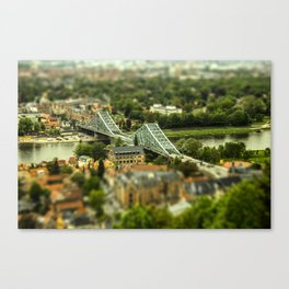 "Dresden Germany ""miniature"" Canvas Print"
