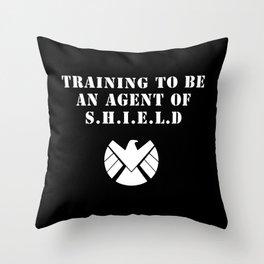 Agent of S.H.I.E.L.D V2 Throw Pillow