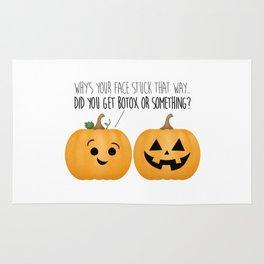 Pumpkin Botox Rug