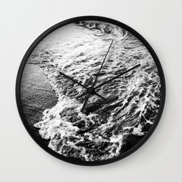 Wave and sand Wall Clock
