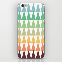 Colorful Corn Mountains iPhone Skin