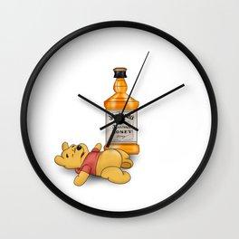 Pooh's Honey Trouble Wall Clock