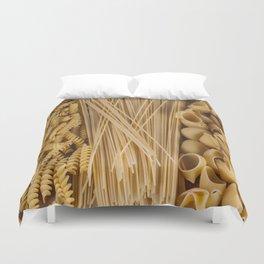 Different kind of pasta Duvet Cover