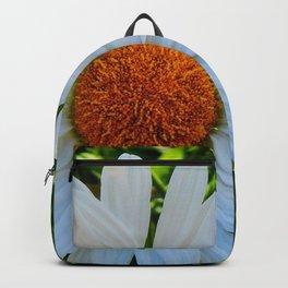 Single White Daisy Backpack