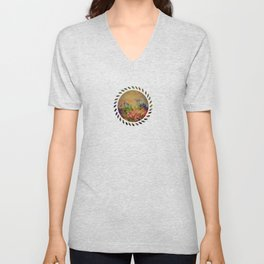 Flowers have music for those who will listen Unisex V-Neck