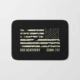 USS Kentucky Bath Mat
