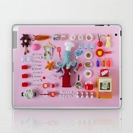 Miniature Collage: Cooking Laptop & iPad Skin