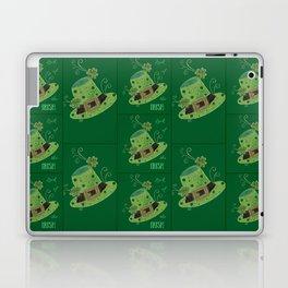 Luck of the Irish leprechaun's hat Laptop & iPad Skin