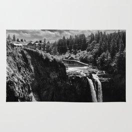 Hotel and Waterfall, no Black Lodge Rug