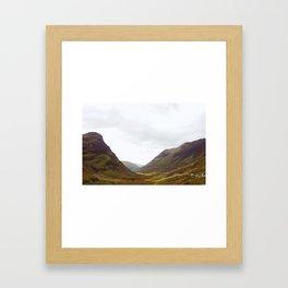 Into Loch Lomond and the Trossachs Framed Art Print
