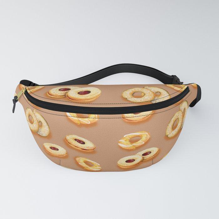 Biscotti-Butterum (pattern) Fanny Pack