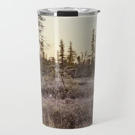 frosty Adirondack morning Travel Mug