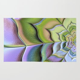 Frosted Glass Panel Rug