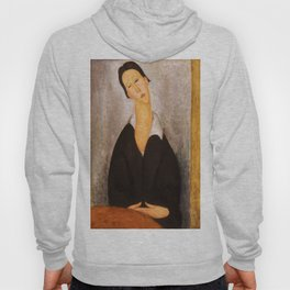 "Amedeo Modigliani ""Portrait of a Polish Woman"" Hoody"
