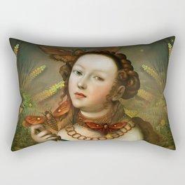 """Myth Lucretia Death Moths"" Rectangular Pillow"