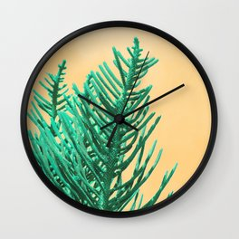 Emerald Pine Wall Clock